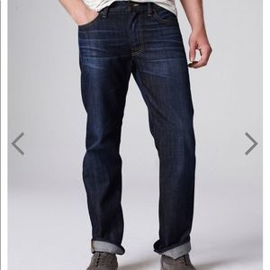 Lucky Brand Men's 363 straight jeans size 31/30